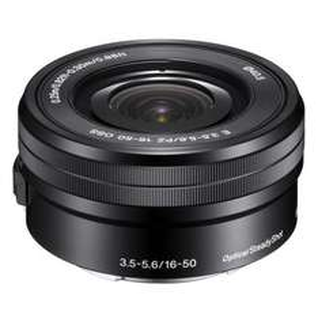 Sony E PZ 16-50mm 16 - 50 mm F3,5-5,6 OSS Reise-Objektiv (SEL-P1650) für NEX