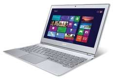 Acer Aspire S7 Ultrabook (13,3 Zoll FHD Touchscreen, Intel Core i7 3517U, 4GB RAM, 256GB SSD, Intel HD 4000, Win 8) alu/weiß @Amazon WHD