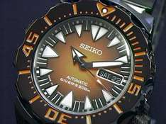 Seiko Monster All-Black Japan Made SRP311J