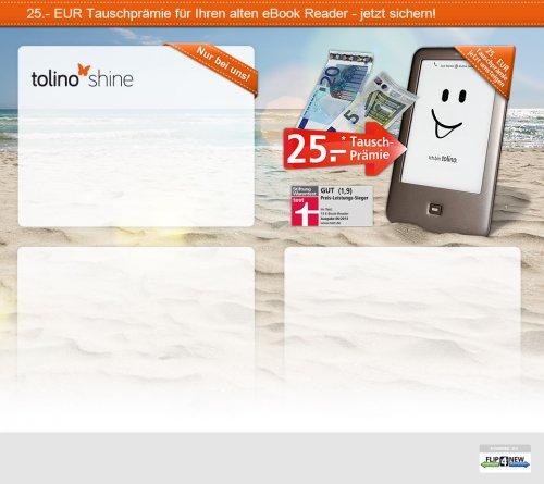 Tolino Shine von Weltbild für 74 Euro