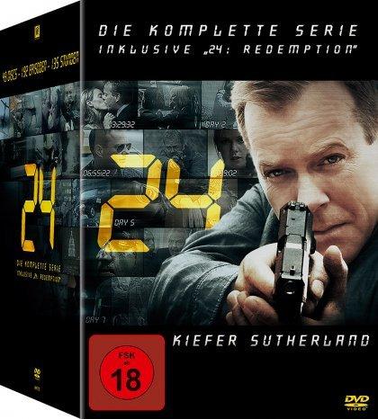 24 (Twenty Four) - Die komplette Serie + Redemption [Media-Dealer]