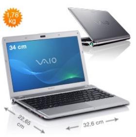 [refurbished] Sony Vaio VPCY21S1E - 404,10€ inkl. VSK