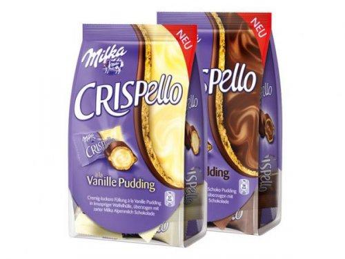 Milka Crispello (Vanille Pudding oder Schoko Pudding) GRATIS testen bis zum 31.03.2014
