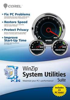 WinZip Systems Utilities Suite[Download] für 2,22€ @Amazon.com