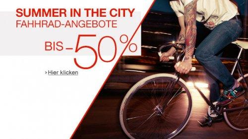 [Amazon] Fahrrad-Angebote bis -50%