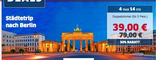 Berlin - 4* Winters Hotel Berlin Mitte am Checkpoint Charlie für nur 39€ pro Nacht für 2 Personen (19€ p.P) -  (August - Oktober)
