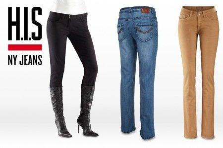 @groupon H.I.S. Damen Jeans 28 Modelle und Farben 1,2,3 oder 5 Stück ab 17,99€
