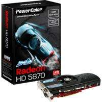 PowerColor HD5870 (Retail, HDMI, 2x DVI, DisplayPort)