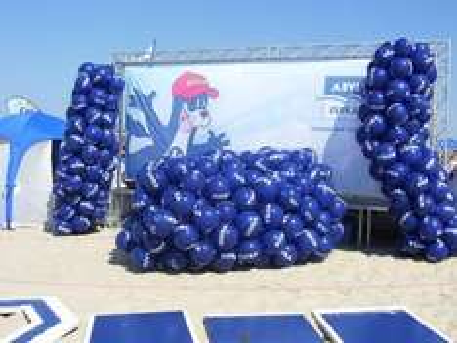 Strandball Gratis auf Langeoog morgen ab 11 Uhr zum abholen