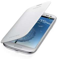 Samsung Flip Cover Case for Samsung Galaxy S3 - Ceramic White @ Amazon.uk