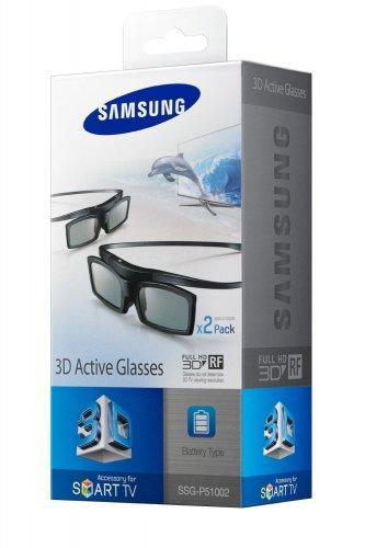 Amazon[WHD] Samsung SSG-P51002/XC 3D-Active-Shutter-Brillen Starterset (Doppelpack, Batteriebetrieb)