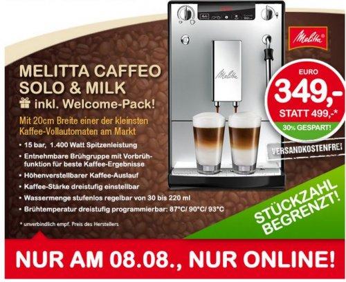 Melitta Caffeo Solo & Milk Kaffevollautomat nur am 8.8.2013