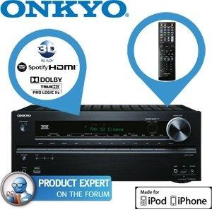Onkyo TX-NR616, 7.2 Netzwerk THX AV-Receiver für nur 248,90€ bei ibood