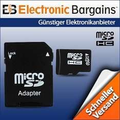 32 GB microSDHC Class 10 für nur 12,99 EUR inkl. Versand [UK]
