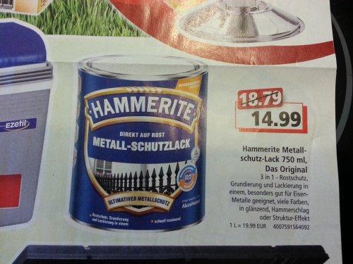 """Regional Oberberg""  Hammerite Metall Schutzlack 14,99€"