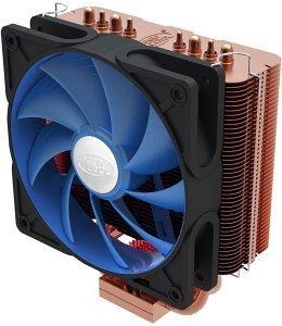 DeepCool Ice Matrix 400 XT – CPU-Kühler (Vollkupfer, 120mm-Lüfter, Sockel 1150/1155,AM3, FM1, FM2) @ Conrad (mit SÜ+Gutschein sind 15€ möglich)