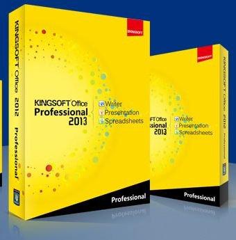 Kingsoft Office Suite Professional 2013 [1 Jahr gratis]