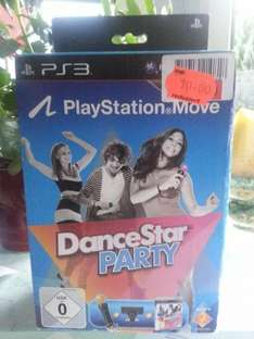 Real (Zwiesel) PS3 Move Starter Pack Dance Star Party für 10 euro