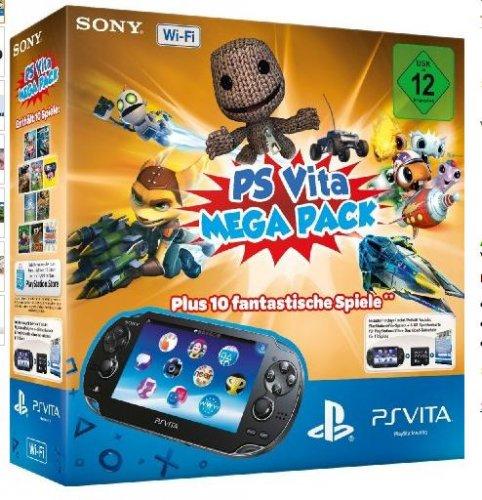 (Amazon Warehouse )PlayStation Vita Wi-Fi inkl. PS Vita Mega Pack 1 - 10 Spiele für 168,35