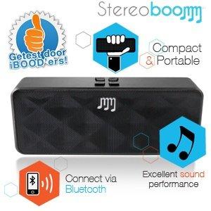 Stereoboomm 500 Compact Wireless Stereo Lautsprecher für 29,95€ + 5,95€ @iBOOD