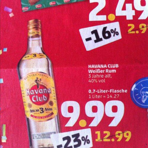 [Lokal Berlin] Havanna Rum 0,7 l für 9,99 Euro