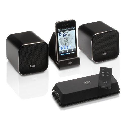 i.onik Lautsprechersystem MSC-220 Mobile Sound Cube -53% und ohne Versandkosten