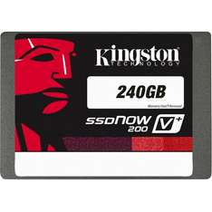 "Kingston SSD Now, V+200 240GB, 2,5"", 154,85 Euro auf zackzack"