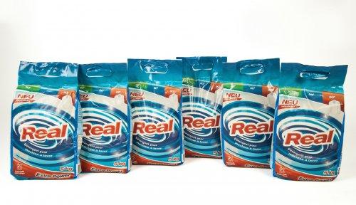 6 x 5kg Real Vollwaschmittel (Pulver)