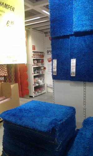 [IKEA Dortmund] IKEA Teppich Hampen in Blau für 1.50 Euro statt 6.99 Euro