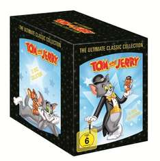 [Amazon Prime] Tom & Jerry: The Complete Classic Collection (1-12, 12 DVDs)