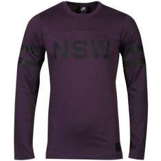 Nike Men's Nsw Football Jersey Purple / Black bei ZAVVI UK