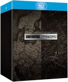 Band of Brothers + The Pacific (12 Discs) [Blu-ray] für 36,20 € [Amazon.it]