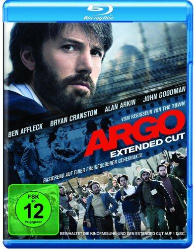Argo - Extended Cut [Blu-ray] für nur 7,97 € Amazon Blitzangebot
