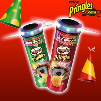 Pringles DISCO SPEAKER und Pringles für 1,39 Euro