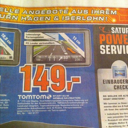 TomTom Start 60 M 149,- Lokal Iserlohn und Hagen 12% Ersparnis