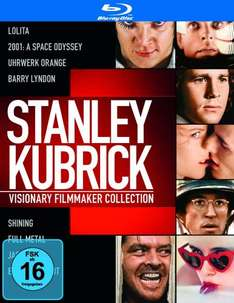 Stanley Kubrick Collection [Blu-ray] bei Amazon für 25,29