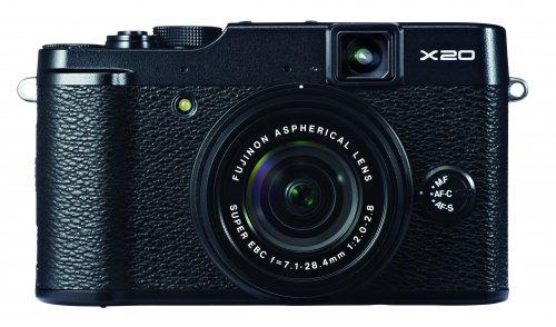 Fujifilm X20 Digitalkamera / schwarz / WHD (wie neu)
