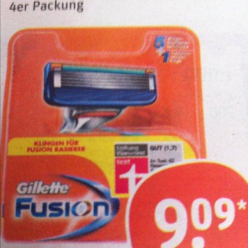 (tegut) Gillette Fusion 4er