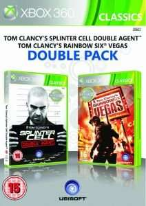 [Xbox 360] Oldies but Goldies: Splinter Cell: Double Agent und Rainbow Six Vegas im Doppelpack für 9,30€ @zavvi.com --> 4,65€ pro Spiel