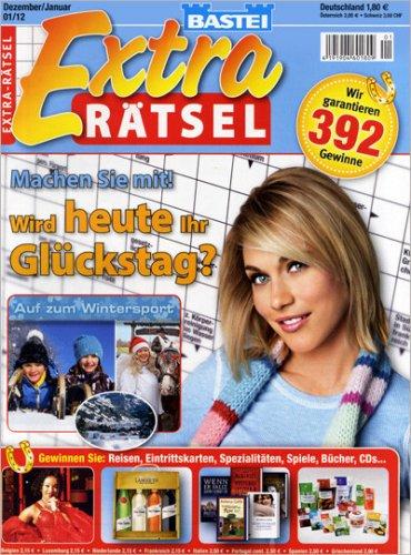 """Extra Rätsel"" für effektiv 2,90€, ""Rätsel mit Pfiff"" 3,20€, Glücks Gewinn Rätsel 4,40€"