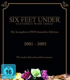 Six Feet Under - Die komplette Serie (25 Discs) für 47,97 € @Amazon.de