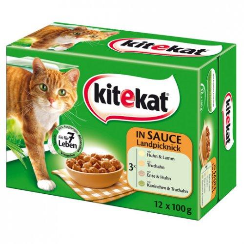 real.- online Kitekat Katzenfutter 12-er Portionsbeutel 1,99€ (1,66/kg)