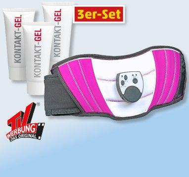SLIMMAXX Bauchmuskel-Gürtel o. Kontaktgel für 19,99€ @Penny