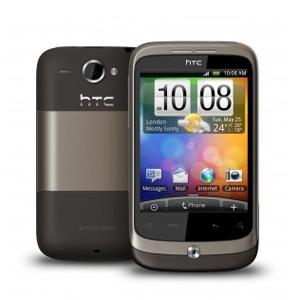 HTC Wildfire Android Handy für 159,99 €