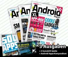 "Daily Deal - 3 x ""Android Magazin XL"" + Prämien"
