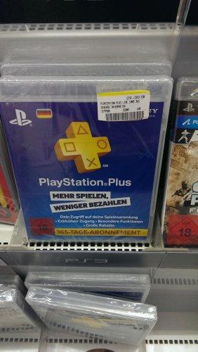 [Media Markt Bochum Hofstede] Playstation Plus Abo 365 Tage für 29€