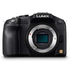 Panasonic Lumix DMC G6 / Body only / sehr gute micro four thirds Kamera / in D versandkostenfrei