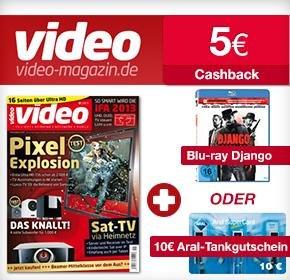 [Qipu]Video Magazin Probe abo + 10€ Aral + 5 € Cashback