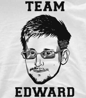 """@6Dollar Shirts - Neu diese Woche """"Team Edward Snowden"""""""