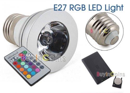 (CN) LED Stimmungslampe (12 Farbvariationen) mit Fernbedienung für 3,85€ @ Ebay